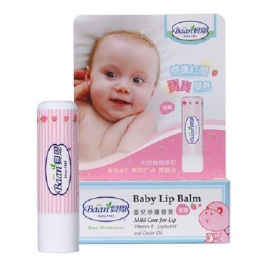 貝恩 Baan 嬰兒修護唇膏(草莓)