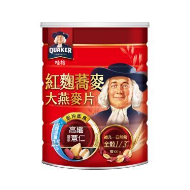 桂格 紅麴蕎麥健康大燕麥片700g
