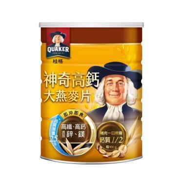 桂格 神奇高鈣大燕麥片700g/罐
