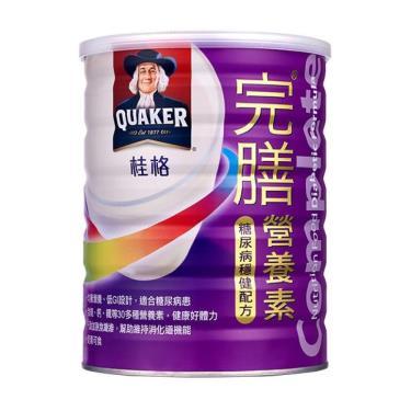 桂格 完膳營養素糖尿病穩健配方900g/罐