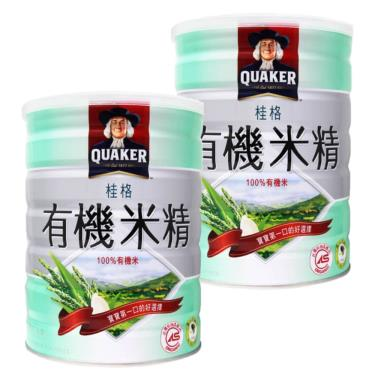 桂格 有機米精 500gX2罐