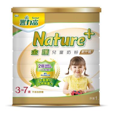 (買6送1)豐力富 nature+4號兒童奶粉1.5kg x7罐