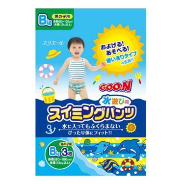 GOO.N 大王 戲水褲/游泳褲/玩水褲-男-XL號(3片/包)