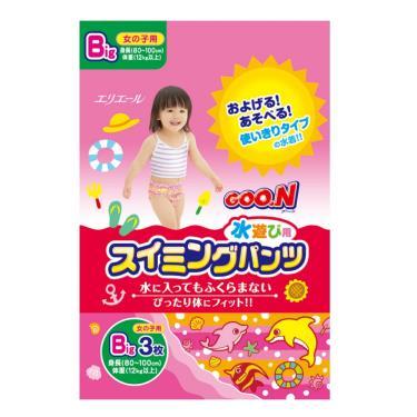 GOO.N 大王 戲水褲/游泳褲/玩水褲-女-XL號(3片/包)