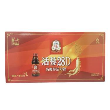 正官庄 活蔘28D滋補液(8入/盒)