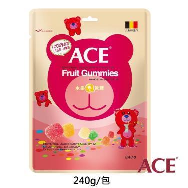 ACE 水果Q軟糖量販包(240g/袋)