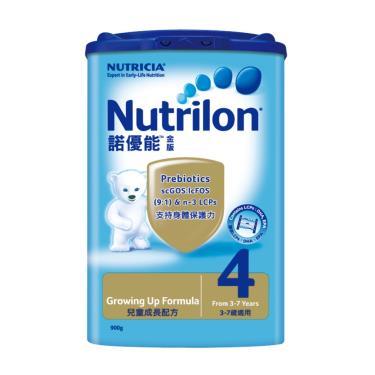 (買6送1)諾優能 金版 3-7歲兒童成長配方奶粉900gx7罐