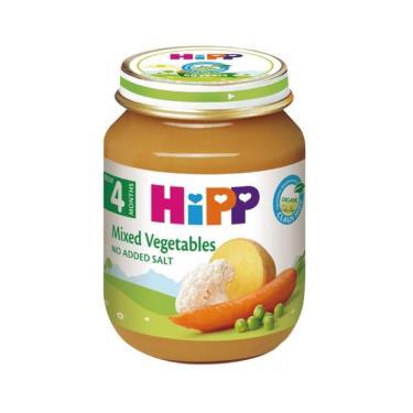 HIPP 喜寶 有機綜合蔬菜泥125g