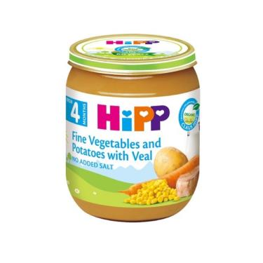 HIPP 喜寶 天然蔬菜小牛肉全餐125g