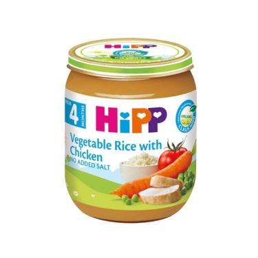HIPP 喜寶 天然蔬菜雞肉全餐125g