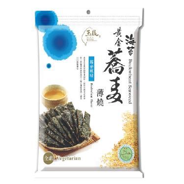 玉民 蕎麥海苔燒-原味40g