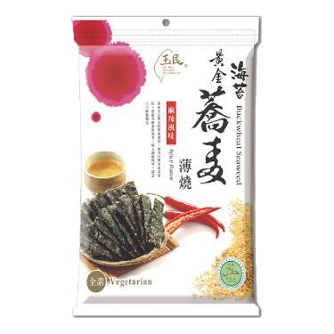玉民 蕎麥海苔燒-辣味40g