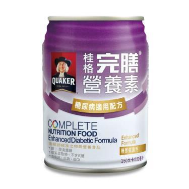 桂格 完膳營養素糖尿病適用x24罐(箱購)