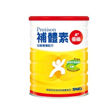 (3罐送衛生紙)補體素 優纖A+奶粉 900g /罐 活動至10/31