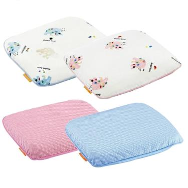 mammyshop 媽咪小站  乳膠嬰兒護頭枕(含3M布) -款式隨機出貨