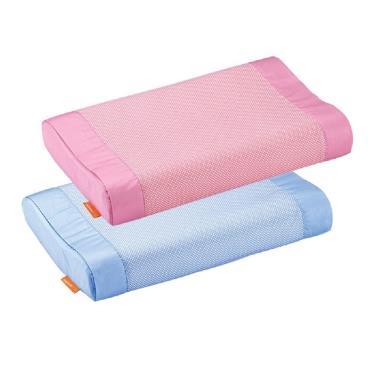mammyshop 媽咪小站 天然乳膠嬰兒護頸枕(含3M布) -顏色隨機出貨