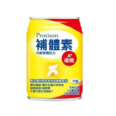 補體素 優纖 A+ 液態營養品(不甜)237mlx24罐(箱購)