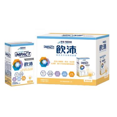 雀巢 飲沛-腫瘤及手術前後營養支援-香草口味237MLx3瓶/盒