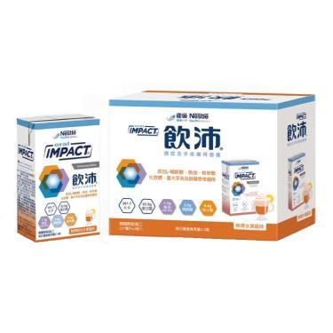 雀巢 飲沛-腫瘤及手術前後營養支援-熱帶水果237mlx3瓶/盒