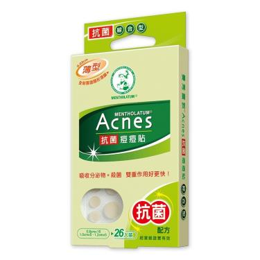 曼秀雷敦 Acnes抗菌痘痘貼 綜合型 26入(盒)