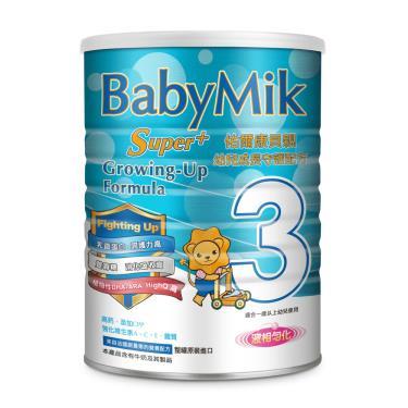 (買6送1)佑爾康貝親 Super+幼兒成長守護配方奶粉900gx7罐
