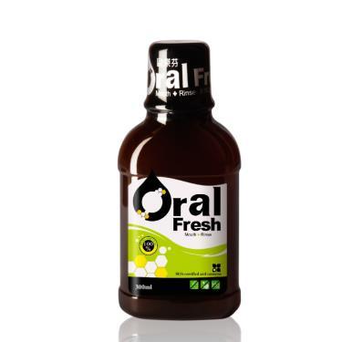 歐樂芬ORAL FRESH 天然口腔保健液/漱口水 300ML<牙周協會專利認證>