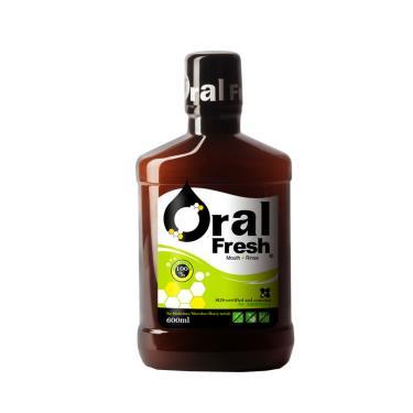歐樂芬ORAL FRESH 天然口腔保健液/漱口水 600ML   <牙周協會專利認證>