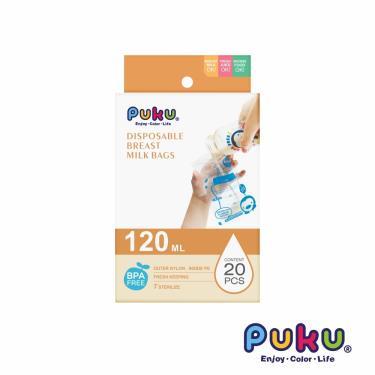 PUKU 藍色企鵝 母乳儲存袋120ml-20枚入