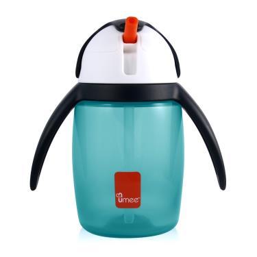荷蘭Umee  U-cool優酷 企鵝水杯360ml 藍色