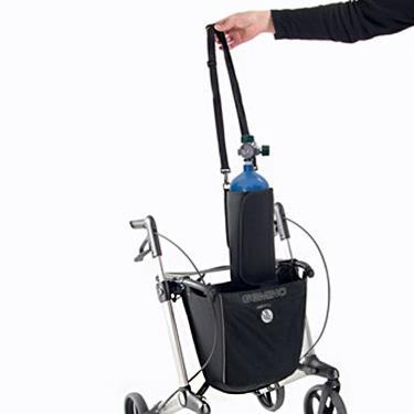 【選配品】 傑米諾前衛助行器 GEMINO 專用隨身氧氣瓶袋 置物袋 廠送