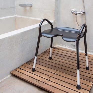 (單品85折)樂活動 Lets Enjoy 黔黑樂享寬座雙高扶手洗澡椅 廠送