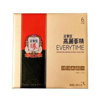 正官庄 高麗蔘精EVERYTIME 10MLx30包/盒