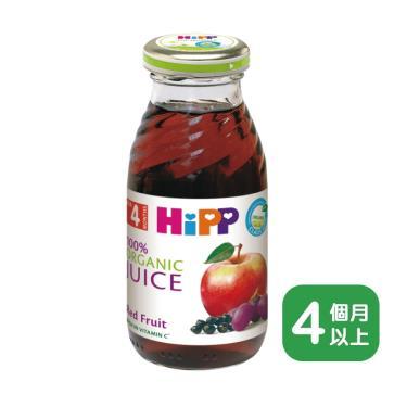 HIPP 喜寶 有機綜合紅寶多果汁200ml