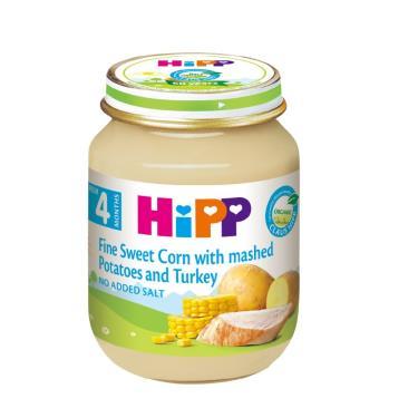 HIPP 喜寶 天然玉米馬鈴薯火雞全餐125g