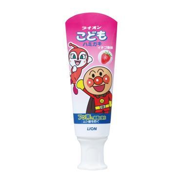 LION日本獅王 麵包超人牙膏-草莓