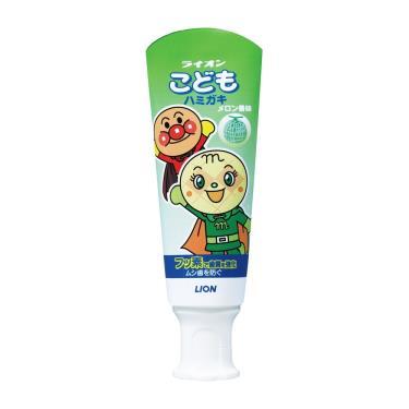 日本獅王麵包超人牙膏-哈密瓜40g