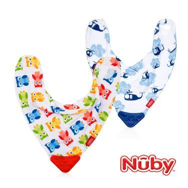 Nuby 咬咬兜 口水巾 (款式隨機出貨)