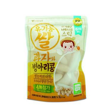 艾唯倪 IVENET 大米餅-雪蓮子豆(30g/包)