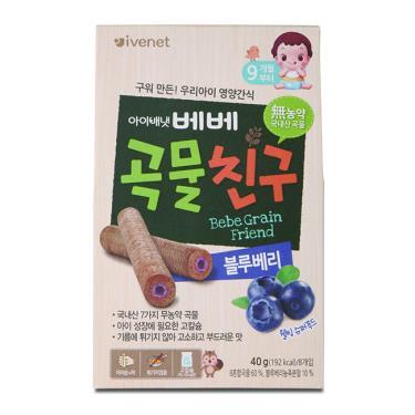 艾唯倪 IVENET 穀物棒棒-藍莓40g