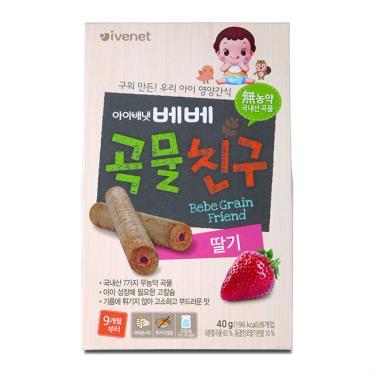 艾唯倪 IVENET 穀物棒棒-草莓40g