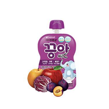 艾唯倪 IVENET 蔬果泥-白葡萄&蘋果風味80ml