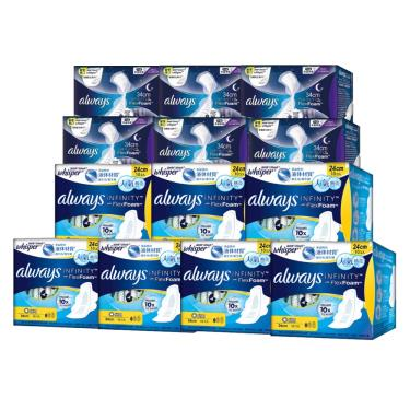 (買8送5)好自在 液體衛生棉日用24cmx8包送夜用34cmx5包