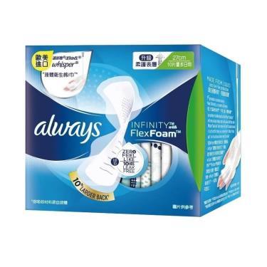 好自在 INFINITY 液體衛生棉量多日用27cm(10片/包)