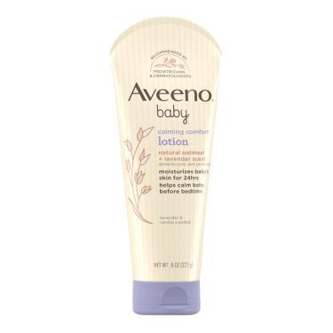 Aveeno艾惟諾 嬰兒薰衣草燕麥香氛舒緩保濕乳227ml
