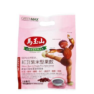 馬玉山 紅豆紫米堅果飲12入/包