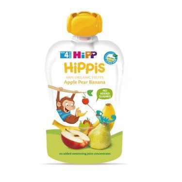 HIPP 喜寶 有機水果趣-西洋梨香蕉100g