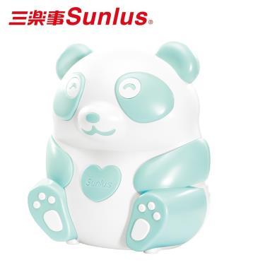 三樂事Sunlus 熊貝比電動吸鼻器-藍 (廠送)