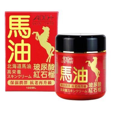 ADD+ 北海道馬油高效潤澤活膚霜100ml