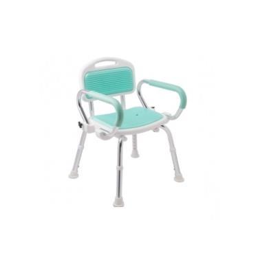 三樂事Sunlus 扶手收折式軟墊洗澡椅 SP5605(廠送)