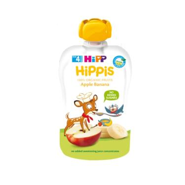 HIPP 喜寶 有機水果趣-蘋果香蕉100g